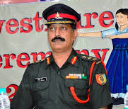 Colonel Vishal Sharad, Commanding Officer, NCC
